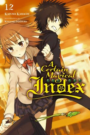 A Certain Magical Index Light Novel v12 cover