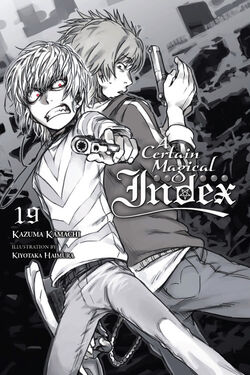 A Certain Magical Index Light Novel v19 cover