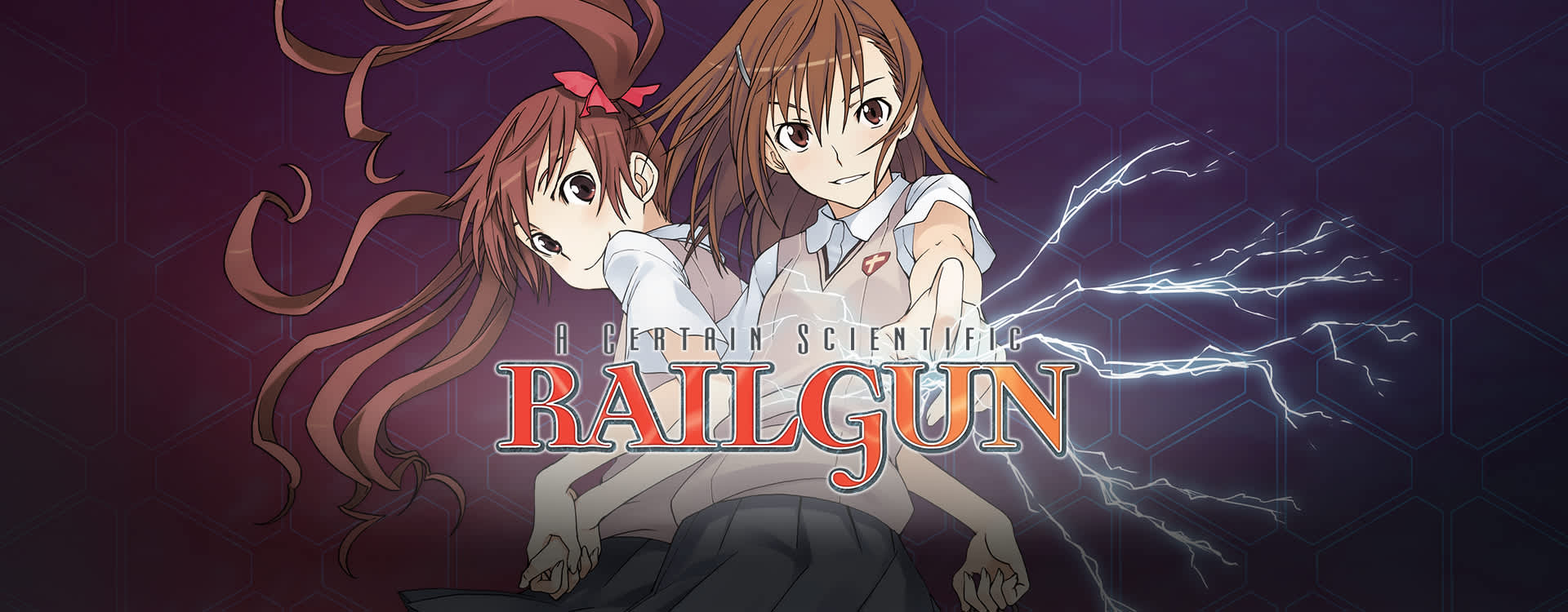 FUNimation Railgun Anime Site (English)