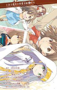 Toaru Majutsu no Index Manga v06 Table of Contents