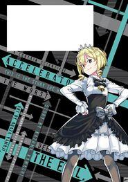 Toaru Kagaku no Accelerator Manga Volume 08 Back Page
