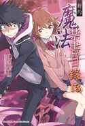 Shinyaku Toaru Majutsu no Index Light Novel v13 Chinese cover
