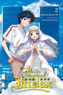 A Certain Magical Index Light Novel v02 cover