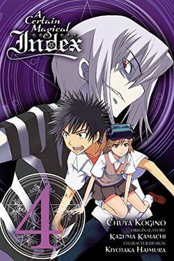 A Certain Magical Index Manga v04 cover
