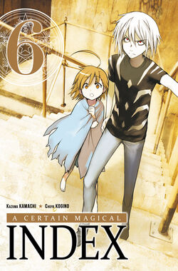 A Certain Magical Index Manga v06 French cover
