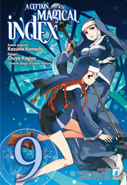A Certain Magical Index Manga v09 Italian cover