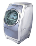 AI-Equipped Fully Automatic Washing Machine