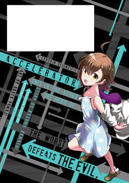 Toaru Kagaku no Accelerator Manga Volume 06 Back Page