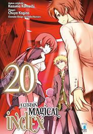 A Certain Magical Index Manga v20 Italian cover