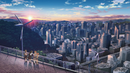 Academy City - Sunrise