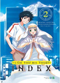 A Certain Magical Index Light Novel v02 Vietnamese cover