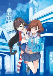 Toaru Kagaku no Railgun SS2 Shopping Mall Demonstration Textless Cover