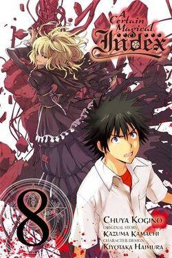 A Certain Magical Index Manga v08 cover