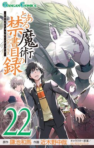 Toaru Majutsu no Index Manga v22 cover