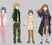 ITEM Genesis Testament outfits