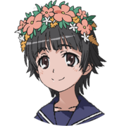 Uiharu Kazari Face (Index III Anime Design)