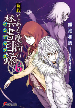Shinyaku Toaru Majutsu no Index Light Novel v06 cover