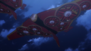 Griffin Sky mobile fortresses (Anime)