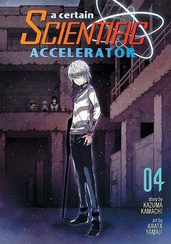 A Certain Scientific Accelerator Manga v04 Cover