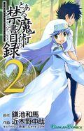 Toaru Majutsu no Index Manga v02 cover