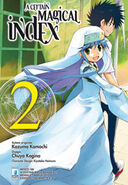 A Certain Magical Index Manga v02 Italian cover