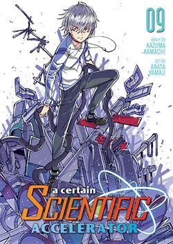 A Certain Scientific Accelerator Manga v09 Cover