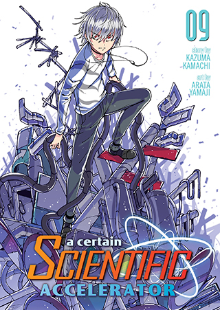 A Certain Scientific Accelerator Manga v09 Cover