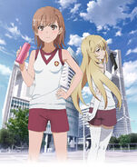 Key Visual for To Aru Kagaku no Railgun Season 3