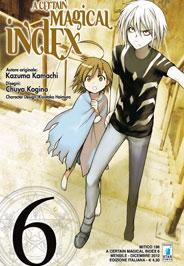 A Certain Magical Index Manga v06 Italian cover