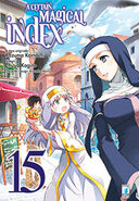 A Certain Magical Index Manga v15 Italian cover