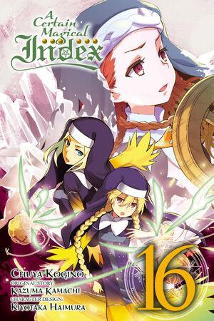 A Certain Magical Index Manga v16 Cover