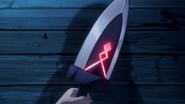 Emperor Shun's Blade activated