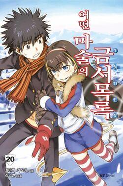 Toaru Majutsu no Index Light Novel v20 Korean cover