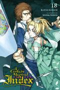 A Certain Magical Index Light Novel v18 cover