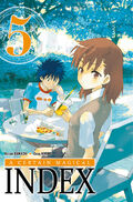 A Certain Magical Index Manga v05 French cover