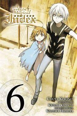 A Certain Magical Index Manga v06 cover