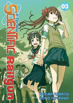 A Certain Scientific Railgun Manga v03 cover
