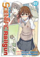 A Certain Scientific Railgun Manga v07 cover
