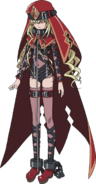 Sasha Kreutzev (Index III Anime Design)