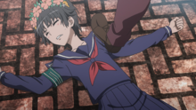 Uiharu in pain