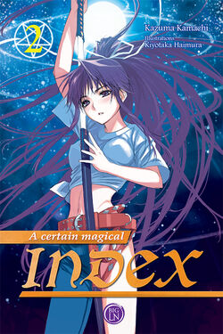 A Certain Magical Index Light Novel v02 French cover