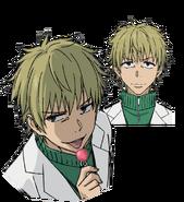 Hishigata Mikihiko Face (Accelerator Anime Design)