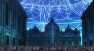 Vatican nightsky