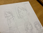 Early Design of Saten Ruiko (Fuyukawa Motoi)