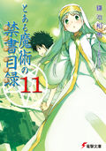 Toaru Majutsu no Index Light Novel v11 cover