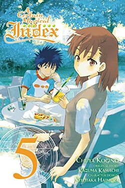 A Certain Magical Index Manga v05 cover