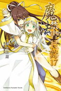 Toaru Majutsu no Index Light Novel v17 Chinese cover