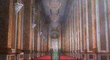 Buckingham hallway