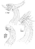 Dragon Designs 14-16 (Fuyukawa)