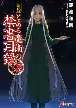 Shinyaku Toaru Majutsu no Index Light Novel v18 cover